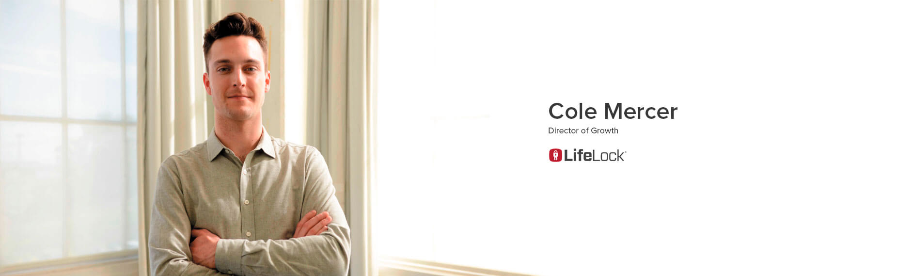 Cole Mercer, Director of Growth at LifeLock