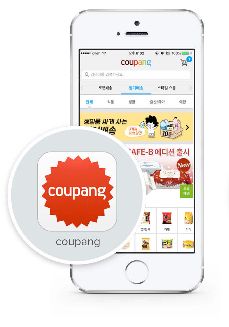 mobile app marketing with coupang